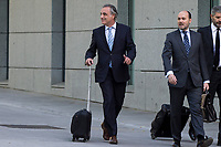 Sandro Rosell's lawyer, Pau Molins, goes to the National Court for the crime of money laundering by Sandro Rosell, former president of Barcelona Football Club in Madrid, Spain. May 25, 2017. (ALTERPHOTOS/Rodrigo Jimenez)
