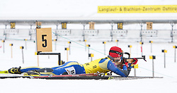 11.12.2010, Biathlonzentrum, Obertilliach, AUT, Biathlon Austriacup, Sprint Men, im Bild Dmitrii Ignatev (UKR, #11). EXPA Pictures © 2010, PhotoCredit: EXPA/ J. Groder