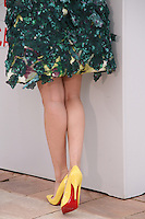 Zhang Ziyi wearing yellow heels, red sole, Jury Un Certain Regard at the Cannes Film Festival 16th May 2013