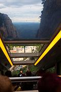Funicular de Sant Joan, Montserrat, Catalonia