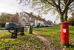 © Licensed to London News Pictures. 30/10/2017. Northallerton, UK. GV shows the Romanby area of Northallerton, North Yorkshire, where police have been searching properties after two boys aged 14 have been arrested by counter terror police on suspicion of preparing an act of terrorism. Photo credit: Andrew McCaren/LNP