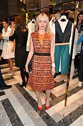 SCARLETT CARLOS CLARK at the opening of Roksanda - the new Mayfair Store for designer Roksanda Ilincic at 9 Mount Street, London on 10th June 2014.
