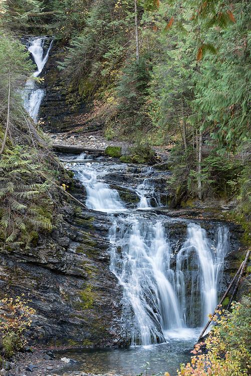 Sweet Creek Falls near Metaline, Washington.