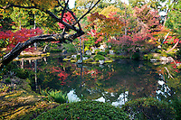 Located at the foot of Mount Kinugasa in northwest Kyoto, Tojiin Temple was the ancestral temple of the Ashikaga shoguns. The garden was designed by renowned landscape designer Soseki Muso, who was also a Zen Buddhist monk, create the gardens and ponds on the grounds.