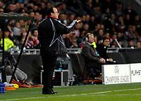 Photo: RIchard Lane.<br />PSV Eindhoven v Liverpool. UEFA Champions League, Quarter Final, 1st Leg. 03/04/2007. <br />Liverpool's coach, Rafael Benitez.