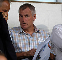 Photo: Daniel Hambury.<br />Ipswich Town v Lazio. Pre Season Friendly. 28/07/2006.<br />Crystal Palace manager Peter Taylor in the crowd.