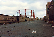 Old amateur photos of Dublin streets churches, cars, lanes, roads, shops schools, hospitals January 1992 ringsend gasometer Irishtown Cobble Street, dockland,