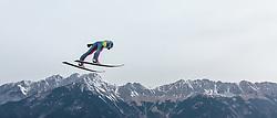02.01.2016, Bergisel Schanze, Innsbruck, AUT, FIS Weltcup Ski Sprung, Vierschanzentournee, Training, im Bild Stefan Hula (POL) // Stefan Hula of Poland during his Practice Jump for the Four Hills Tournament of FIS Ski Jumping World Cup at the Bergisel Schanze, Innsbruck, Austria on 2016/01/02. EXPA Pictures © 2016, PhotoCredit: EXPA/ JFK