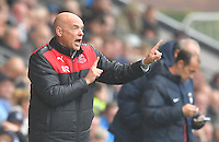 Fleetwood Town's Manager Uwe Rosler shouts instructions to his team<br /> <br /> Photographer Dave Howarth/CameraSport<br /> <br /> The EFL Sky Bet League One - Fleetwood Town v Coventry Town - Saturday 3 September 2016 - Highbury Stadium - Fleetwood<br /> <br /> World Copyright © 2016 CameraSport. All rights reserved. 43 Linden Ave. Countesthorpe. Leicester. England. LE8 5PG - Tel: +44 (0) 116 277 4147 - admin@camerasport.com - www.camerasport.com