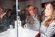 SARA CARELLA, Cartier Tank Anglaise launch. Kensington Palace Orangery, London.  19 April 2012.