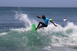 DAKAR, SENEGAL - MARCH 29: A surfer competes in the 2019 Senegal Pro within World Surf League at Almadies shores in Dakar, Senegal on March 29, 2019. Alaattin Dogru  (Credit Image: RealTime Images)