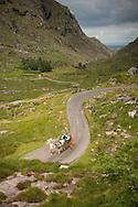 Jaunting cart near Gap of Dunloe, County Kerry, Ireland