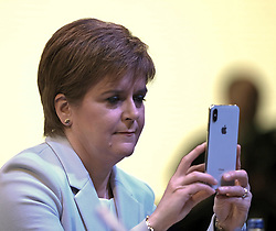 SNP Spring Conference, Saturday 27th April 2019<br /> <br /> Pictured: First Minister Nicola Sturgeon <br /> <br /> Alex Todd | Edinburgh Elite media