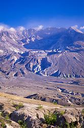 Mt. St. Helens from Johnston Ridge, Mt. St. Helens National Volcanic Monument, Washington, US