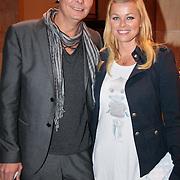 NLD/Amsterdam/20110521 - Amsterdam fashion Gala 2011, Bridget Maasland met broer Bryan Maasland