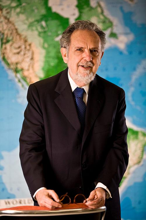 Belo Horizonte_MG, Brasil...Retrato de Paulo Paiva, economista e presidente do Banco BDMG (Banco de   Desenvolvimento de Minas Gerais).. . Portrait of Paulo Paiva, economist and president of a Bank BDMG(Banco de Desenvolvimento de Minas Gerais)...Foto: JOAO MARCOS ROSA /  NITRO