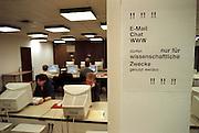 Duitsland, Münster 06-1998Onderwijs, Internet, univ. bibliotheek van MünsterFoto: Flip Franssen/Hollandse Hoogte