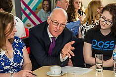 Ministers launch 15-24 Learner Journey Report, Edinburgh, 10 May 2018