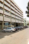 Israel, Tel Aviv Stock Exchange TASE building at 52 Ahad Haam street