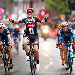 03-10-2016: Wielrennen: Munsterland Giro: Munster<br /> MUNSTER (GER) cycling <br /> John Degenkolb (Giant-Alpecin) wins the 2016 edition of the Sparkassen Munsterland Giro. Second place Roy Jans (Bel-Wanty) and third German rider Pascal Ackerman (Rad-Net Rose)