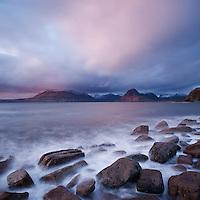 View towards Black Cuillins from Elgol, Isle of Skye, Scotland