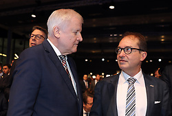 19.01.2019, Kleine Olympiahalle, Muenchen, GER, CSU Parteitag in München, im Bild Horst Seehofer und Alexander Dobrindt // during the CSU party congress at the Kleine Olympiahalle in Muenchen, Germany on 2019/01/19. EXPA Pictures © 2019, PhotoCredit: EXPA/ SM<br /> <br /> *****ATTENTION - OUT of GER*****