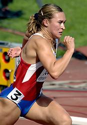 08-08-2006 ATLETIEK: EUROPEES KAMPIOENSSCHAP: GOTHENBORG <br /> Pospelova, Svetlana (RUS) op de 400 meter<br /> ©2006-WWW.FOTOHOOGENDOORN.NL