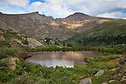 Mount Bierstadt 14,060ft a Colorado Front Ranger fourteener peak.