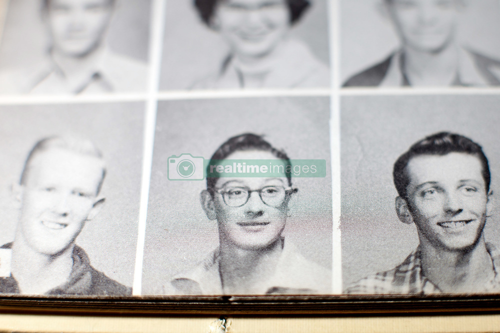 June 7, 2011 - Orlando, FL, USA - TP_339446_FOUN_HARDROCK_20.EDMUND D. FOUNTAIN | Times .(06/07/2011 Orlando) Buddy Holly, as seen in his 1954 Lubbock High School yearbook photo.The Hard Rock Cafe's vault where memorabilia not currently on display is stored is a music and pop-culture lover's dream. Inside a non-descript building outside of Orlando is a priceless collection of artifacts from the music and entertainment industry.   [Edmund D. Fountain, Times photo] (Credit Image: © Edmund D. Fountain/Tampa Bay Times/ZUMAPRESS.com)