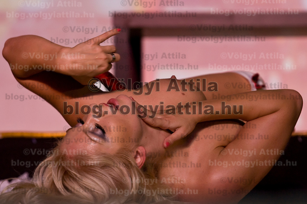 Erotic exhibition held in Syma Centre. Budapest, Hungary. 26. September 2009. ATTILA VOLGYI