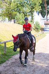 Guerra Léonie, SUI, Atnon<br /> European Championship Children, Juniors, Young Riders - Fontainebleau 1028<br /> © Hippo Foto - Leanjo de Koster<br /> Guerra Léonie, SUI, Atnon