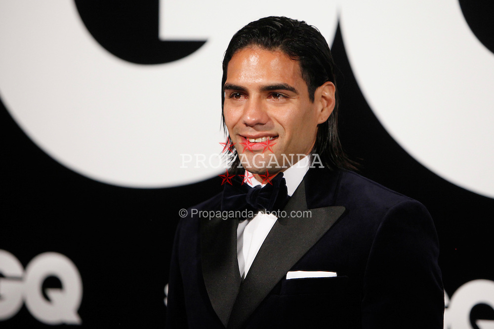 MADRID, SPAIN - Monday, November 19, 2012: Radamel Falcao  attends GQ Men of the Year 2012 Awards at at the Westin Palace Hotel. (Pic by Caro Marin/AlterPhotos/Propaganda)