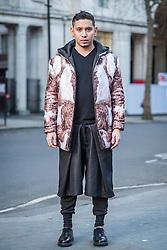 John Herrera (Designer) during London Fashion Week Autumn/Winter 2017 in London.  Picture date: Friday 17th February 2017. Photo credit should read: DavidJensen/EMPICS Entertainment