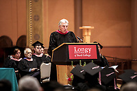 Longy School of Music of Bard College - Cambridge MA. Commencement May 12, 2018.