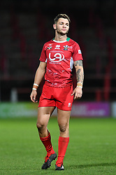 11th November 2018 , Racecourse Ground,  Wrexham, Wales ;  Rugby League World Cup Qualifier,Wales v Ireland ; Mike Butt of Wales <br /> <br /> <br /> Credit:   Craig Thomas/Replay Images