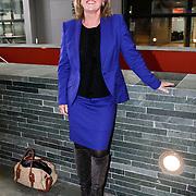 NLD/Hilversum/20121003- Boekpresentatie De Iconen van het NOS Achtuurjournaal, Pia Dijkstra