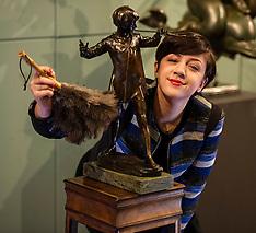 Peter Pan sculpture up for Auction | Edinburgh | 3 April 2016