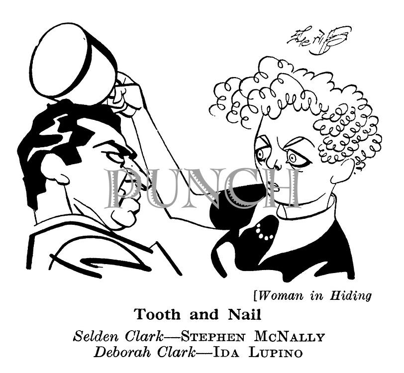 Woman in Hiding ; Stephen McNally and Ida Lupino