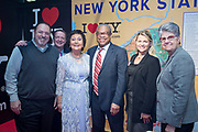 NO FEE PICTURES<br /> 25/1/19 New York State Division of Tourism pictured at the Holiday World Show 2019 at the RDS Simmonscourt in Dublin. Picture; Arthur Carron