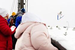 February 8, 2019 - Lahti, Finland - Gerard Antoine competes during Nordic Combined, PCR/Qualification at Lahti Ski Games in Lahti, Finland on 8 February 2019. (Credit Image: © Antti Yrjonen/NurPhoto via ZUMA Press)