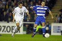 Fotball<br /> Championship England 2004/05<br /> Reading v Leeds United<br /> 19. oktober 2004<br /> Foto: Digitalsport<br /> NORWAY ONLY<br /> Graeme Murty (Reading) Simon Walton (Leeds)