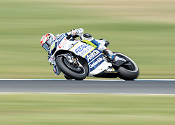 October 21, 2017 - Melbourne, Victoria, Australia - French rider Loris Baz (#76) of Reale Avintia Racing in action during the first qualifying practice session at the 2017 Australian MotoGP at Phillip Island, Australia. (Credit Image: © Theo Karanikos via ZUMA Wire)