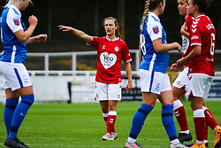 Emma Bissell of Bristol City Women - Mandatory by-line: Will Cooper/JMP - 18/10/2020 - FOOTBALL - Twerton Park - Bath, England - Bristol City Women v Birmingham City Women - Barclays FA Women's Super League