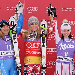 20110108: AUT, FIS World Cup Ski Alpin, Ladies Downhill, Zauchensee