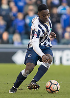 Football - 2016 / 2017 FA Cup - Fifth Round: Millwall vs. Leicester City <br /> <br /> Fred Onyedinma of Millwall at The Den<br /> <br /> COLORSPORT/DANIEL BEARHAM