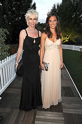 Left to right, TRUDIE STYLER and PIPPA MIDDLETON at the Royal Parks Foundation Summer Party hosted by Candy & Candy on the banks of the Serpentine, Hyde Park, London on 10th September 2008.