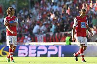 20110806: BRAGA, PORTUGAL - SC Braga vs Aston Villa: Official presentation for the 2011/2012 season. In picture: Nuno Andre Coelho and Ewerton. PHOTO: Pedro Benavente/CITYFILES