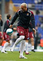 Photo: Steve Bond.<br />Birmingham City v West Ham United. The FA Barclays Premiership. 18/08/2007. Dean Ashton