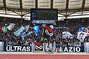 Lazio supporters during the Italian championship Serie A football match between SS Lazio and Bologna FC at Stadio Olimpico, Saturday, Feb. 29, 2020, in Rome, Italy.(Federico Proietti-ESPA-Images/Image of Sport)