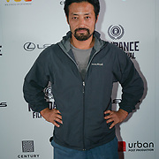 London, England, UK. 28th September 2017. Kentaro Kishi is a Actor of Noise attend Raindance Film Festival Screening at Vue Leicester Square, London, UK.